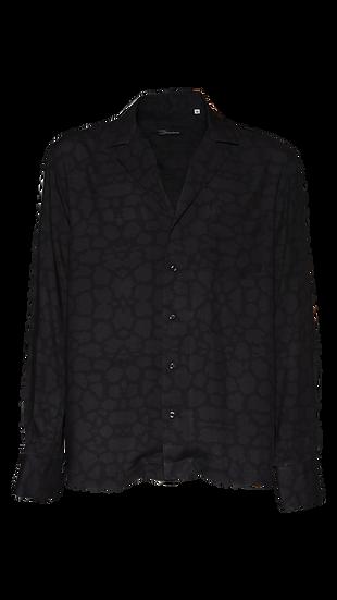 Camicia Uomo Black Leopard