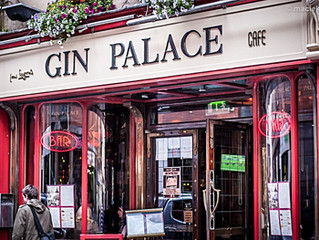 Gin Palace Dublin serves finger limes