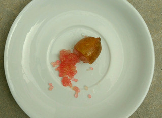 Citrus caviar in your drink