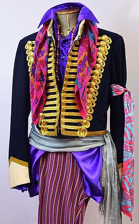 Jimi Hendrix style costume