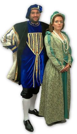 Tudor King & Lady