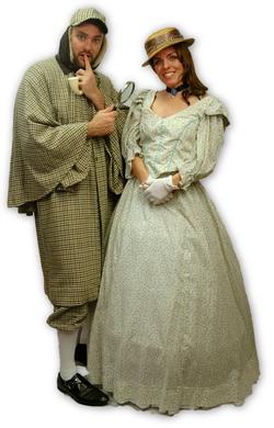 Sherlock & Victorian Lady