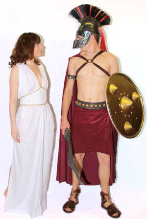 Greek Warrior & Queen