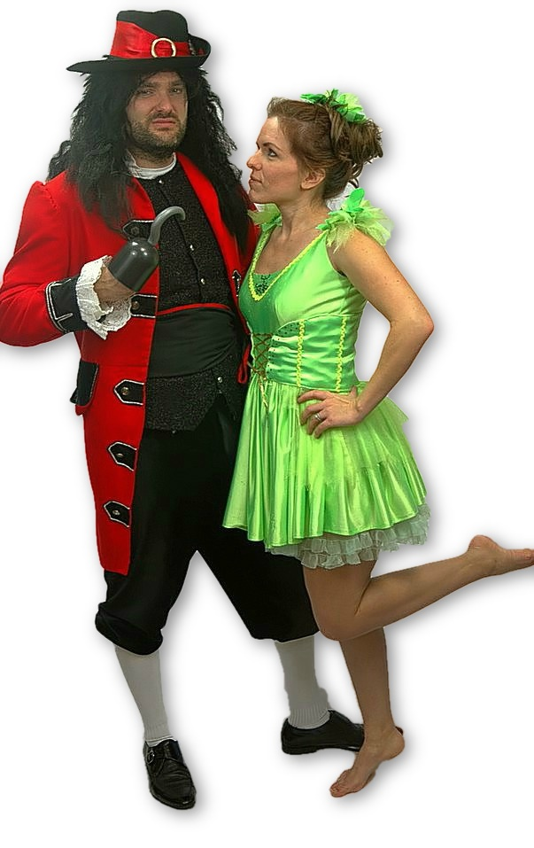 Captain Hook & Tinkerbell