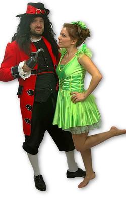Captain Hook & Tinkerbell
