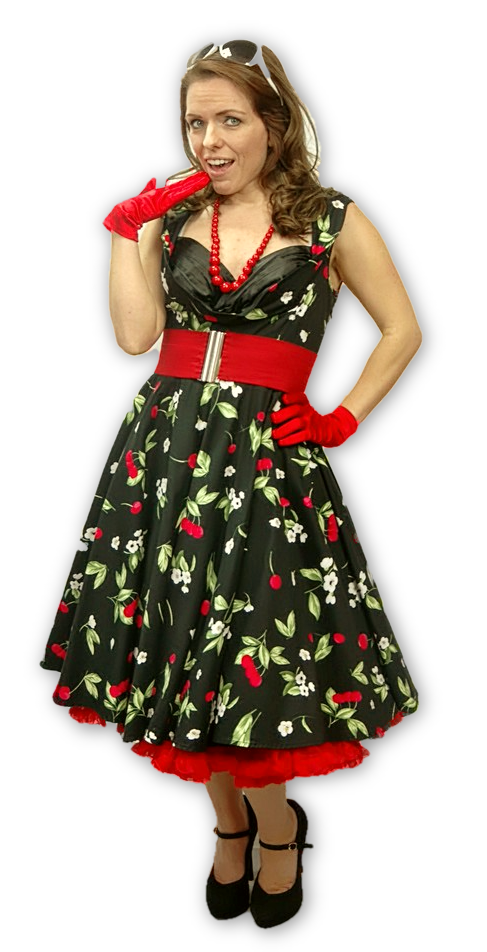 50's Rockabilly Chick