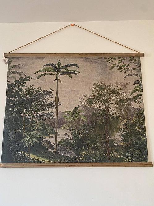 Kakemono Ile aux trésors