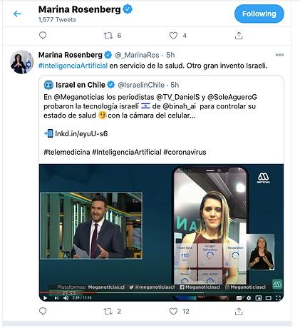 Twitter Binah Vitaltec Telemedicina ContagiemosSalud