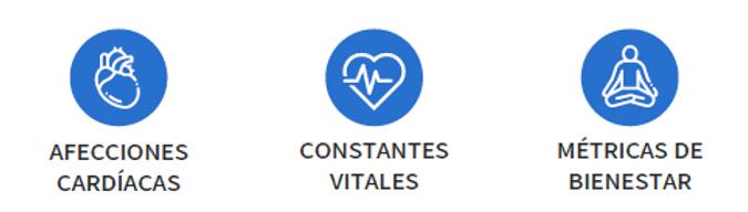 Lo que detecta CardiacSense