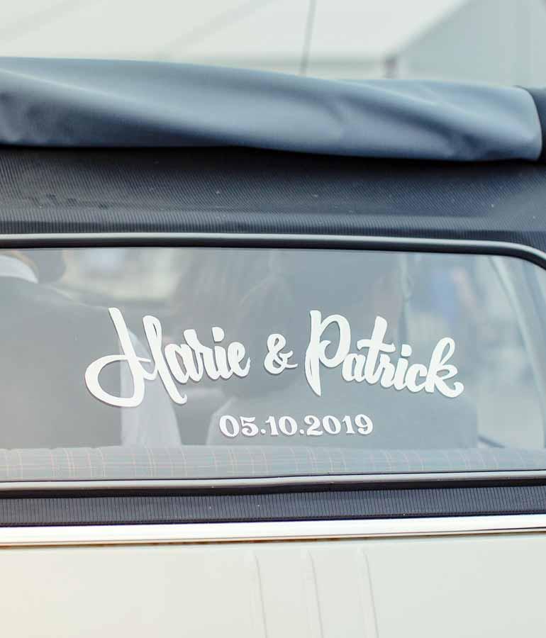 peinture-vehicule-mariage