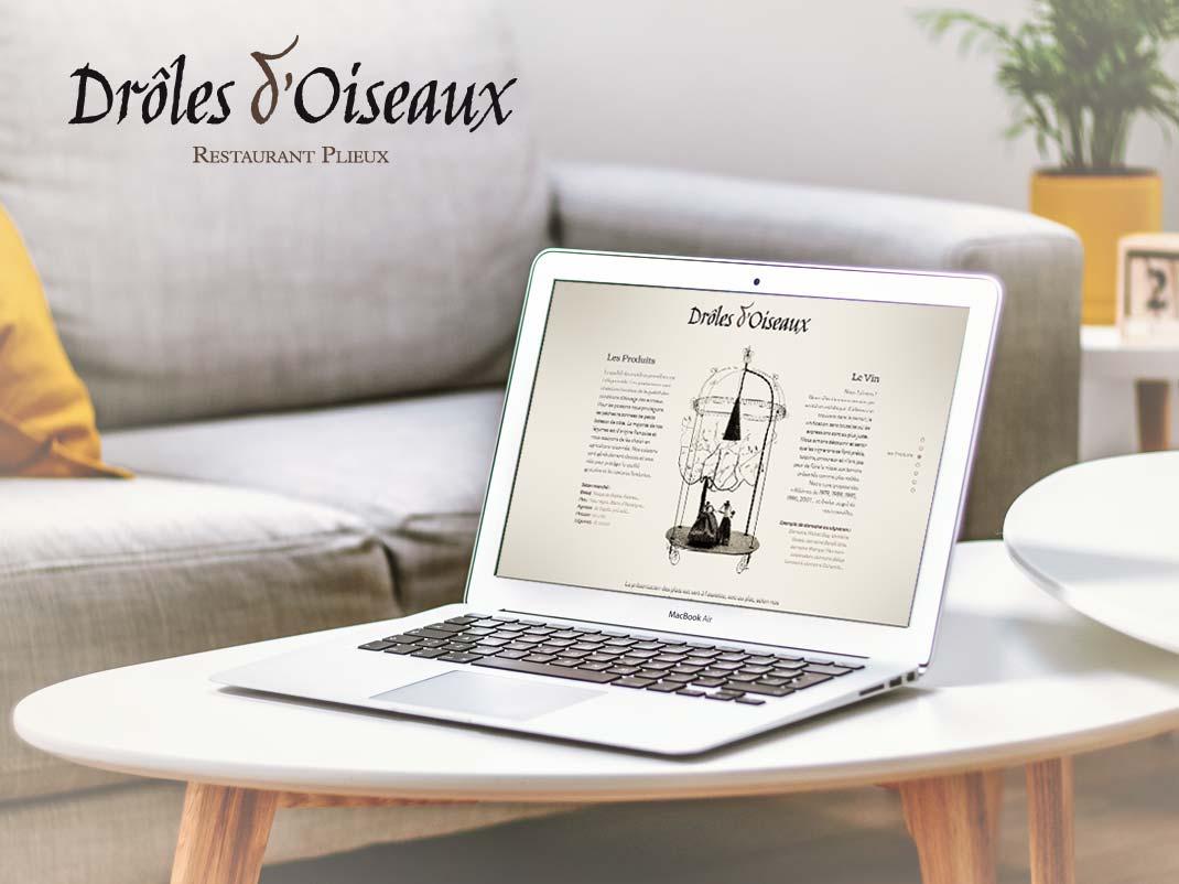 Site internet vitrine Restaurant (Gers)