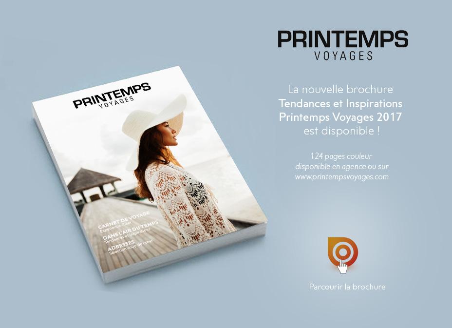 Brochure 2017 Printemps Voyage