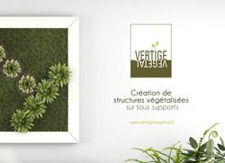 Logo Vertige Végétal