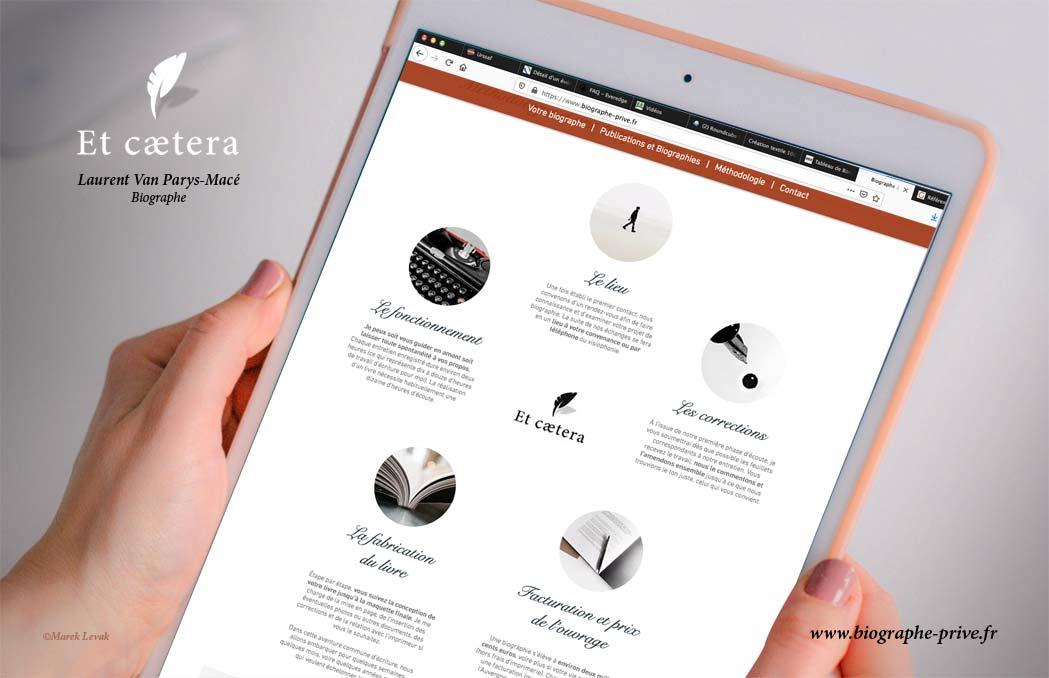 Réalisation site web Et Caetera.fr