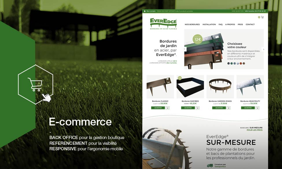 E-commerce Gers : EverEdge.fr