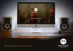 Site internet Secret Retreats