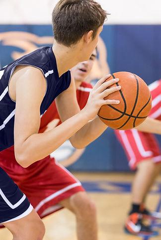 High School Basketball Spiel