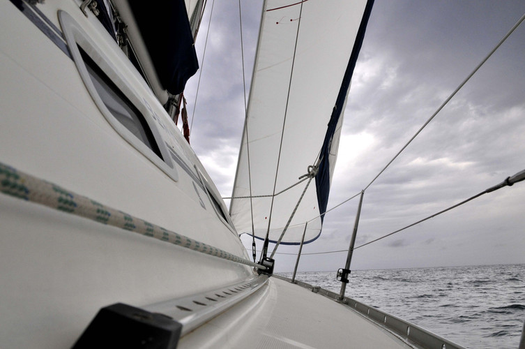 Stage de voile oceanis 393