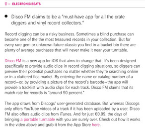 Disco FM Is A New App For iOS That Will Help You Be A Better Record Digger