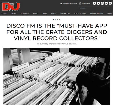 "Disco Fm Is The ""Must-Have App For All The Crate Diggers And Vinyl Record Collectors"""