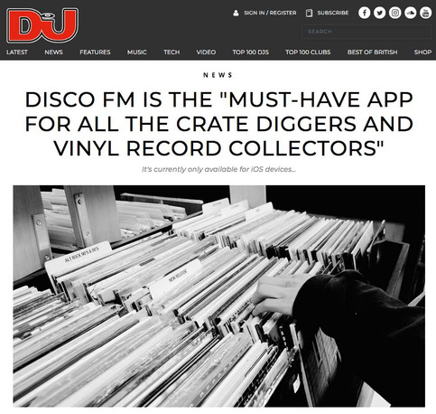 """Disco Fm Is The """"Must-Have App For All The Crate Diggers And Vinyl Record Collectors"""""""