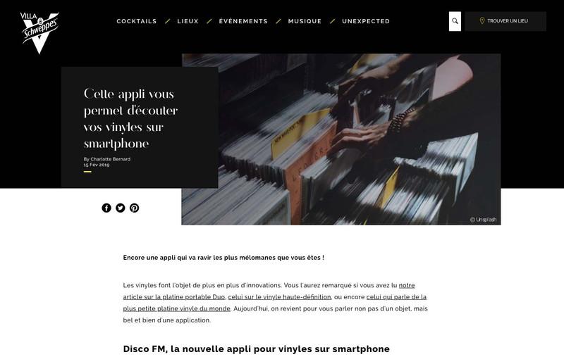 Cette appli vous permet d'écouter vos vinyles sur smartphone