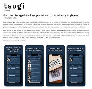 Disco FM : l'appli qui permet d'écouter des vinyles sur vos téléphones