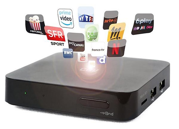 Box IPTV / TV connectée CGV - EXPAND