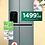 Thumbnail: Réfrigérateur américain LG - GSL6611PS