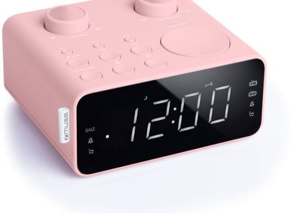 Radio-réveil double alarme MUSE - M17CPK