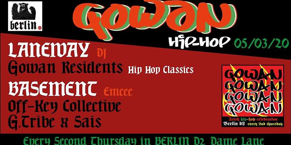 Gowan Hip Hop w/ Off-Key Collective, G.Tribe & SAÏS