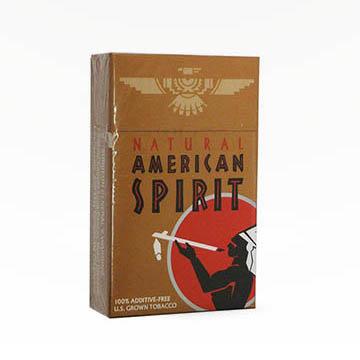 American Spirit Dark Gold Cigarettes