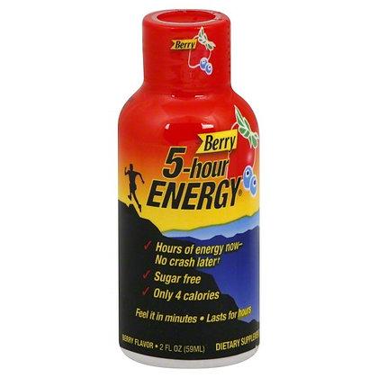 5-hour ENERGY® Dietary Supplement Shot - Berry