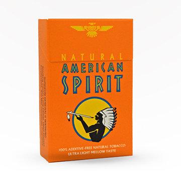 American Spirit Orange Cigarettes