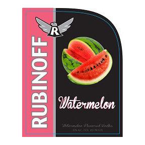 Rubinoff Watermelon Vodka (750 ml)