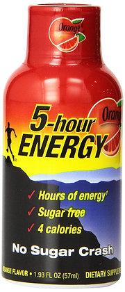 5-hour ENERGY® Dietary Supplement Shot - Orange