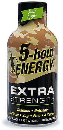 5-hour ENERGY® Dietary Supplement Shot - Extra Apple
