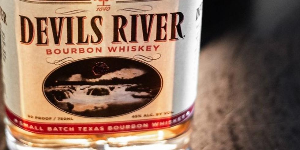 Devil's River Wiskey Tasting