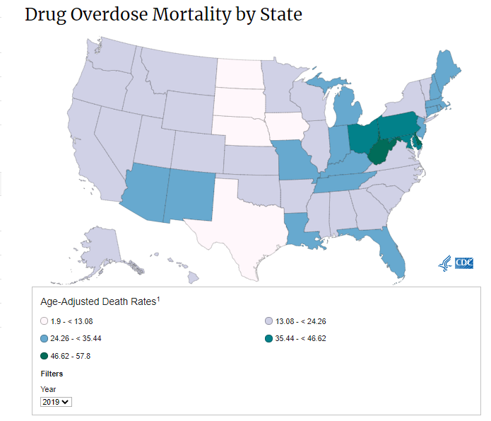 CDC Map
