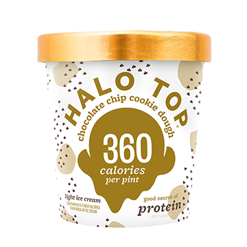 Halo Top Chocolate Chip Cookie Dough Ice Cream