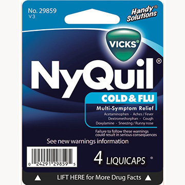 Nyquil Liquicaps (4 pk)