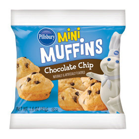 Pillsbury Mini Chocolate Chip Muffins