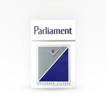 Parliament Silvers Cigarettes