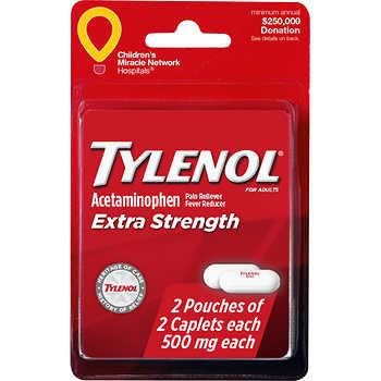 Tylenol (4 Caplets)