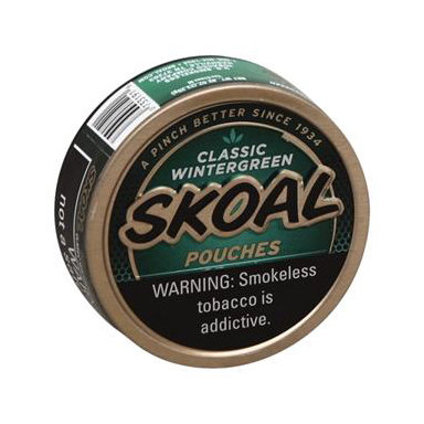 Skoal Wintergreen Pouches