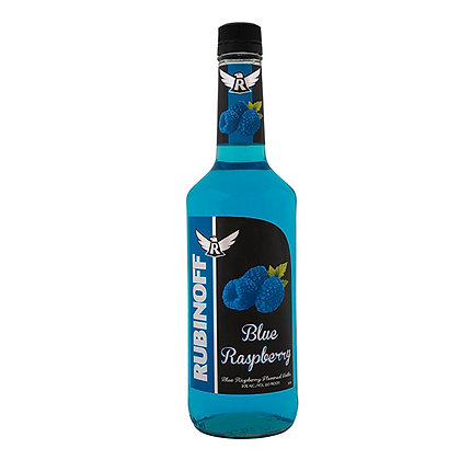 Rubinoff Blue Rasberry Vodka (750 ml)