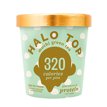 Halo Top Mochi Green Tea Ice Cream