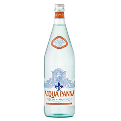 Acqua Panna Natural Spring Water 1 liter Glass Bottle