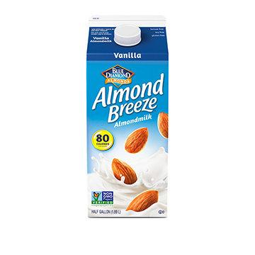 Almond Breeze Vanilla Half Gal