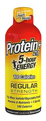 5-hour ENERGY® Dietary Supplement Shot - Peach Mango - Protein